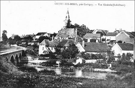 Carte postale ancienne de Chitry